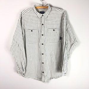 Patagonia Organic Cotton Flannel Plaid Shirt 539
